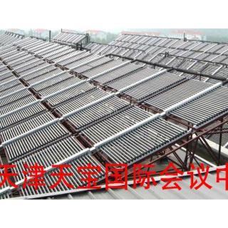 天宝会议中心泳池工程 1225平米集热器